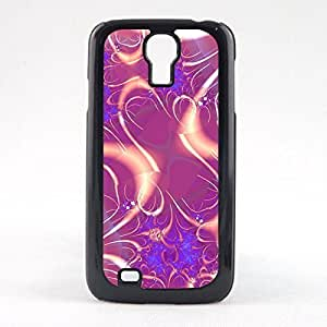 Case Fun Case Fun Pink Swirl Pattern Style 2 Snap-on Hard Back Case Cover for Samsun Galaxy S4 Mini (I9190)