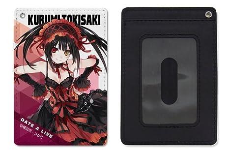 Date A Live Original Ver Kurumi Tokisaki COSPA Character Full Color Retractable Pass Case Anime