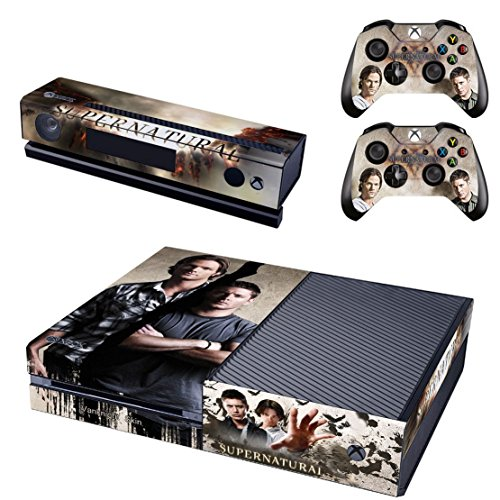 (Vanknight Vinyl Decal Skin Stickers Cover for Xbox One Console Kinect 2 Controllers)