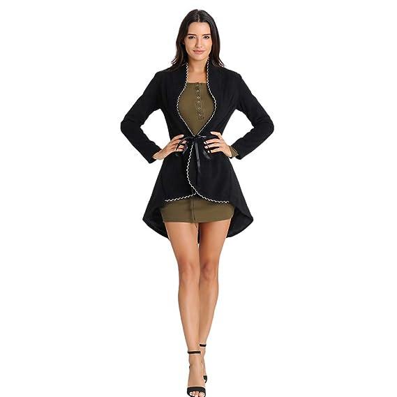 ZORE Women Coat Mujer Vintage Steampunk Abrigo Largo gótico Overcoat señoras Retro Chaqueta Cardigan (S