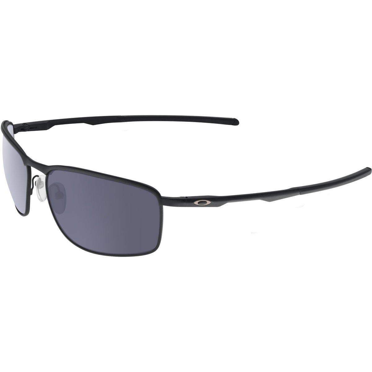Oakley Men's Conductor 8 0OO4107 Rectangular Sunglasses, MATTE BLACK, 60 mm