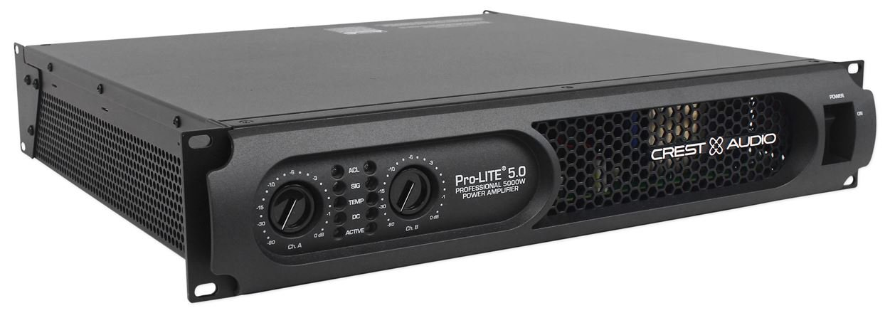 Amazon.com: Crest Audio ProLite 5.0 5,000 Watt Professional Power Amplifier Amp: Musical Instruments