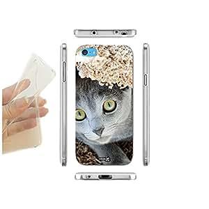 FUNDA CARCASA SLIM CAT GUARDA PARA IPHONE 5C TPU