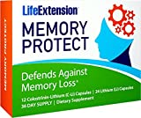 Life Extension Memory Protect, Powerful Dual Action Cognition and Memory Support, 12 Colostrinin-Lithium (C-Li) Capsules | 24 Lithium (Li) Capsules Review