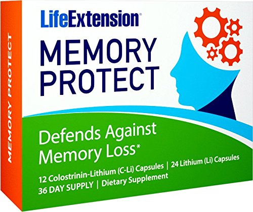 y Protect, Powerful Dual Action Cognition and Memory Support, 12 Colostrinin-Lithium (C-Li) Capsules | 24 Lithium (Li) Capsules ()