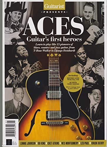 (GUITARIST MAGAZINE UK PRESENTS ACES GUITAR'S FIRST HEROES 2018. )