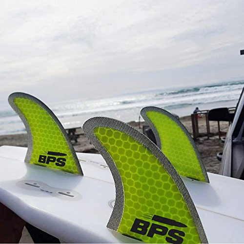 Quillas De Tabla De Surf STEALTH De Alto Rendimiento De Fibra De Vidrio Mallada Por