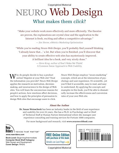 Neuro web design what makes them click voices that matter amazon neuro web design what makes them click voices that matter amazon susan weinschenk libros en idiomas extranjeros fandeluxe Choice Image