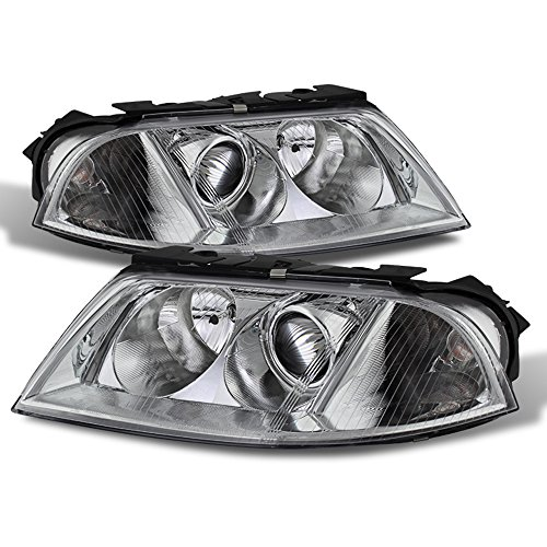 ACANII - For 2001-2005 VW Passat Replacement Projector Headlights Headlamps Pair Driver + Passenger Side