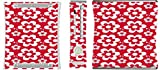 Fun Flowers Pattern Bold Xbox 360 Vinyl Decal Sticker Skin by Debbie's Designs