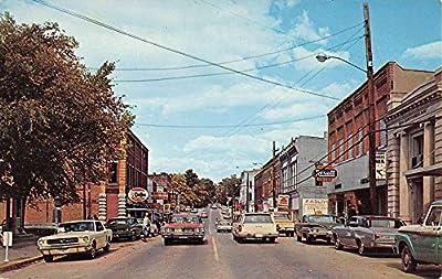 Cadiz Kentucky Business Section Historic Bldgs Vintage Postcard K52907