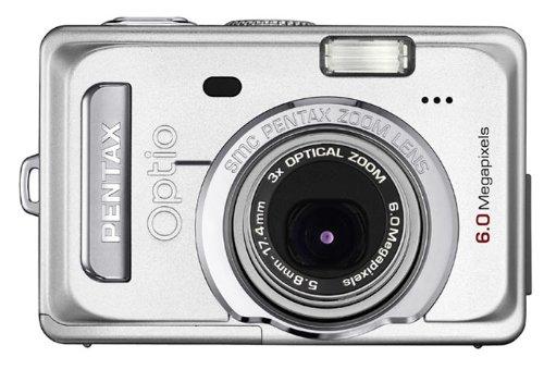 Pentax Optio S60 6MP Digital Camera with 3x Optical Zoom Pentax Focus Screen