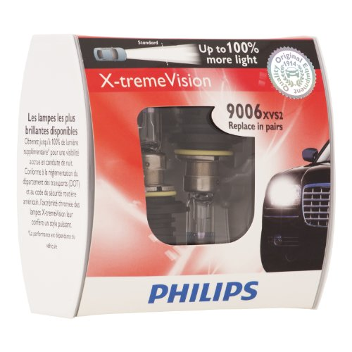 Philips 9006XVS2 X-Treme Vision Headlight Bulb, (Pack for sale  Delivered anywhere in Canada