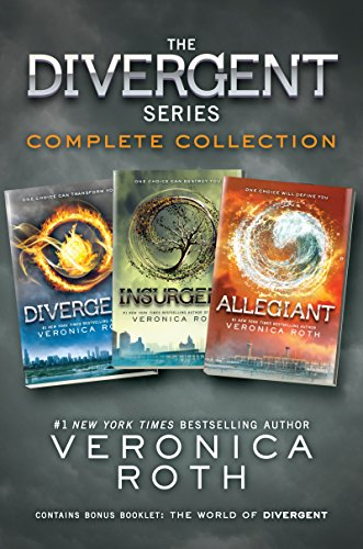 The Divergent Series Complete Collection: Divergent, Insurgent, Allegiant (Ebook Divergent Kindle)