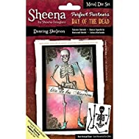 "Sheena Douglass ""Day of the Dead - Dancing Skeleton"" SD-PPMD-SKELE Stempel"