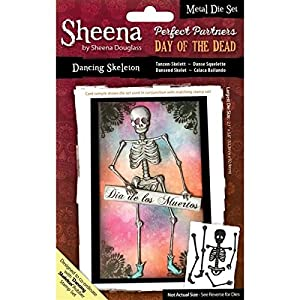 "Sheena Douglass ""Day of the Dead - Dancing Skeleton"" SD-PPMD-SKELE Stempel"