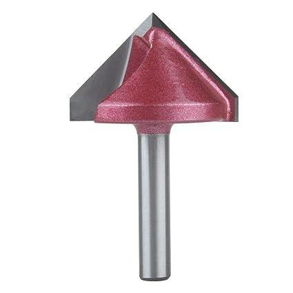 B 11 mm Bosch Professional Zubeh/ör 2 608 628 352 Fase-//V-Nutfr/äser 8 mm L 15 mm G 56 mm 45/°