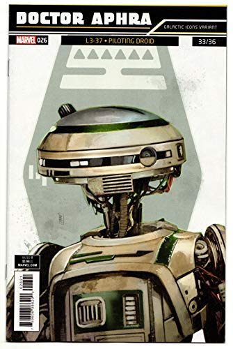 - Star Wars Doctor Aphra #26 Galactic Icons Variant (Marvel, 2019) VF/NM