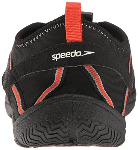 Speedo Herren Seaside Lace 5.0 Athletic Wasserschuh Schwarz / Orange