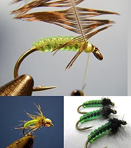 Hareline Stretchy D rib TAN FLY TYING RIBBING MATERIALS Fly Tying BWCflies
