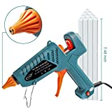 #8: Hot Glue Gun kits, 10pcs Glue Sticks High Temperature Melting Glue Gun 100-Watt Industrial Glue Gun Flexible Trigger for DIY Small Craft Projects&Sealing and Quick Repairs