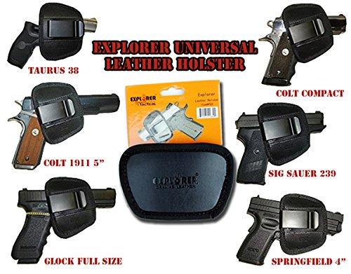 Explorer Tactical Gun Holster For Belt  Bed Mattress Car Auto Desk Home Office Use For Gun 1911  Black P22 2