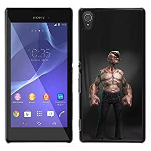 // PHONE CASE GIFT // Duro Estuche protector PC Cáscara Plástico Carcasa Funda Hard Protective Case for Sony Xperia T3 / sailor abs sexy man captain cgi boy /