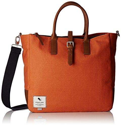 Clarks the Gray, Bolsa de Asa Superior para Mujer, Naranja (Rust), 14x36x45 cm (B x H x T)