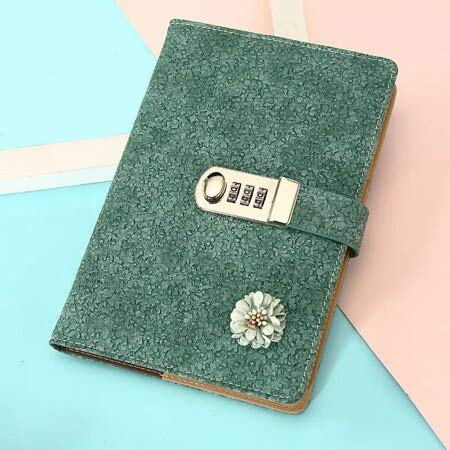 Vintage Floret Contraseña Cuaderno con Bloqueo Funcional ...
