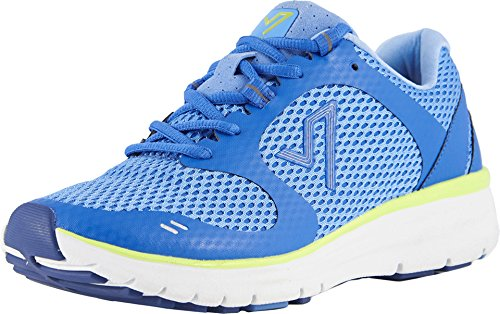 Vionic Women's Elation Active Sneaker Blue Yellow 9.5 M