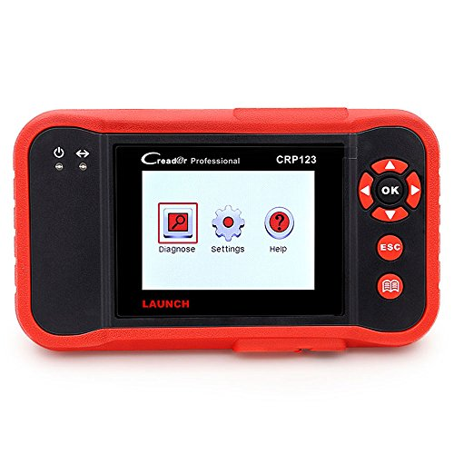 LAUNCH Creader CRP123 Engine/ABS/SRS/Transmission Automotive Code Reader Launch CRP123 OBD2 EOBD Scanner