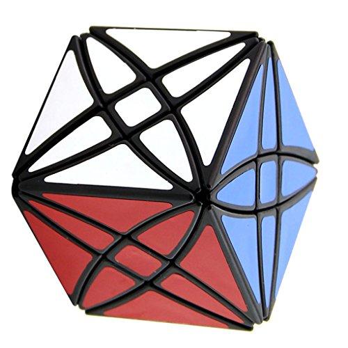 Jili Online Black Irregular Star Magic Cube Speed Cube Kids Educational Toys Party Bag Fillers by Jili Online