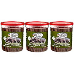 Triumph Dog Turkey, Pea, Berry Grain Free Jerky, 3Pack (24-oz)