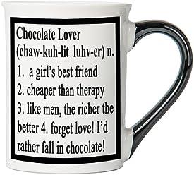Chocolate Lover Mug, Chocolate Lover Coffee Cup, Chocolate Lover Funny Mug, Chocolate Lover Gifts By Tumbleweed