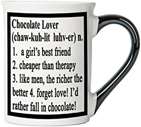 Chocolate Lover Mug, Chocolate Lover Coffee Cup, Chocolate Lover Funny Mug, Chocolate Lover Gifts By Tumbleweed