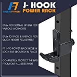 RIGERS J-Hook for Power Rack Attachment - Fit 3x3