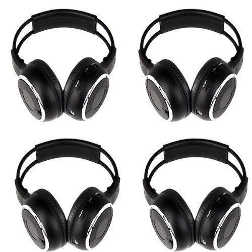 four-pack-of-two-channel-folding-adjustable-universal-rear-entertainment-system-infrared-headphones-