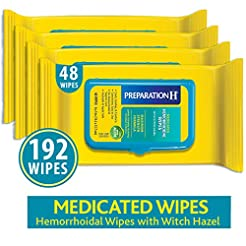 Preparation H Flushable Medicated Hemorr...