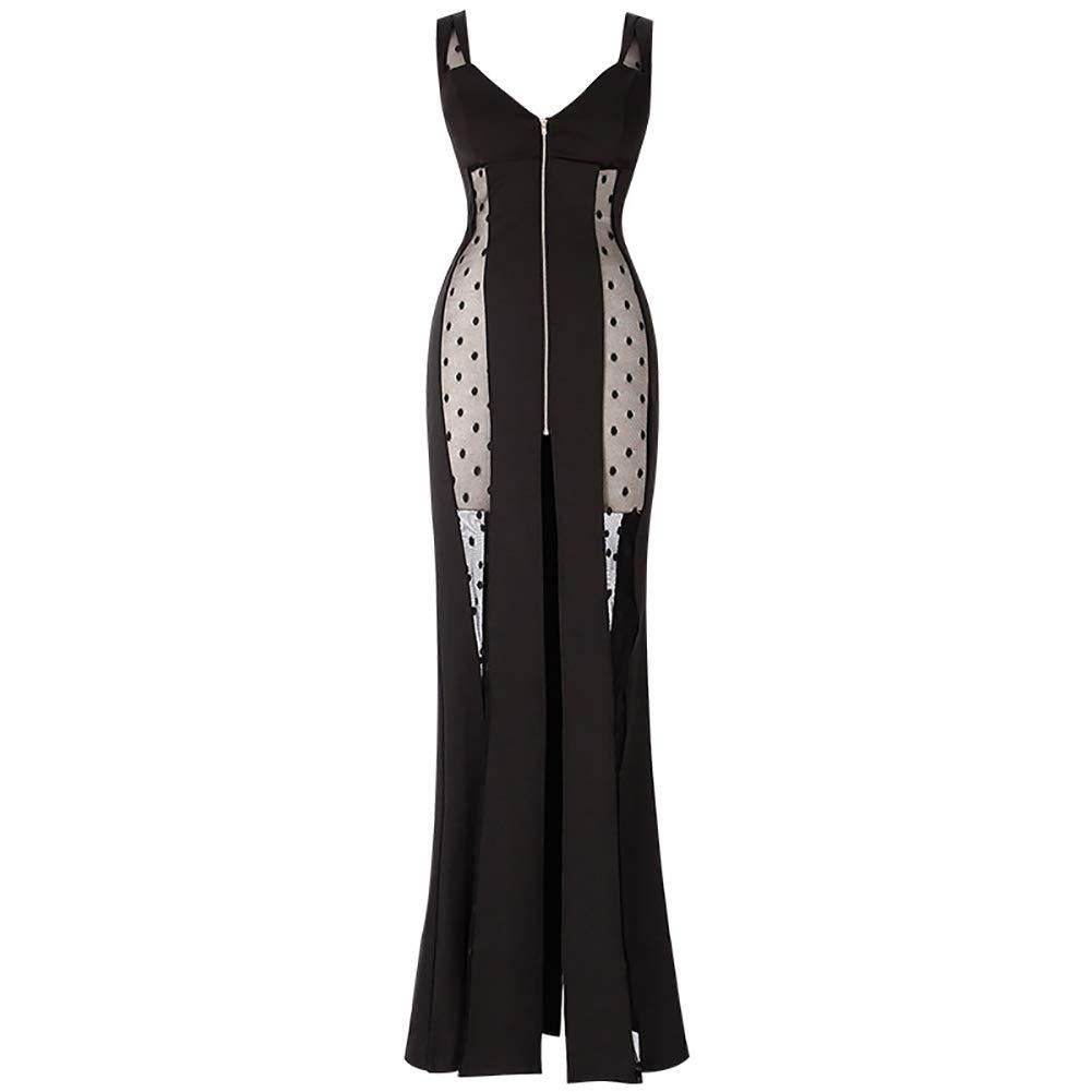素敵な 女性のセクシーなドレス - B07QK55R8V 春と夏のスリング薄いスリム気質のスカートのスカートのヒップスカート - - 透明なドレスのスカート Small Black - B07QK55R8V, 東八代郡:82366b85 --- arianechie.dominiotemporario.com