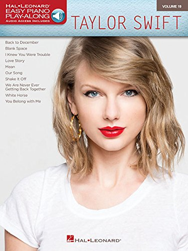 Taylor Swift - Easy Piano Play-Along Volume 19 (Bk/Online - Music Easy Piano Country
