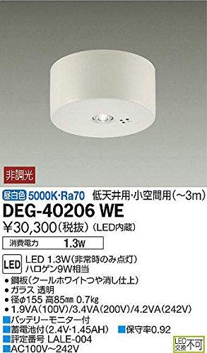 大光電機 非常灯 DEG40206WE B07CZ6XWGH