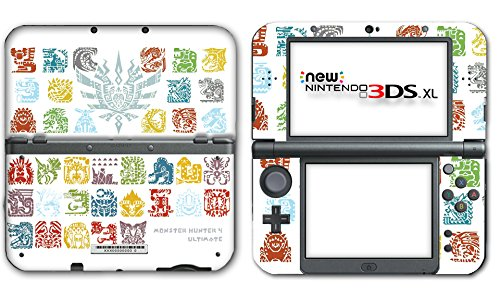 Monster Hunter 4 Ultimate Generations Stories Video Game Vinyl Decal Skin Sticker Cover for the New Nintendo 3DS XL LL 2015 System Console (Nintendo 3ds Xl Monster Hunter 4 Ultimate Edition)