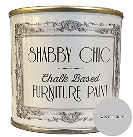Awesome Shabby Chic Chalk Based Furniture Paint Winter Grey 125Ml Beutiful Home Inspiration Truamahrainfo