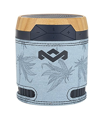 House of Marley EM-JA008-BH Chant BT Portable Wireless Bluetooth Speaker, Blue Hemp