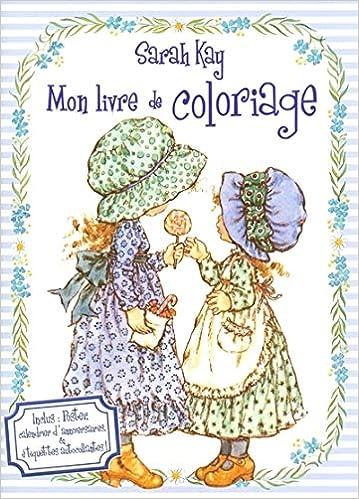 Livre De Coloriage Sarah Kay Amazon Fr Kay Sarah Livres