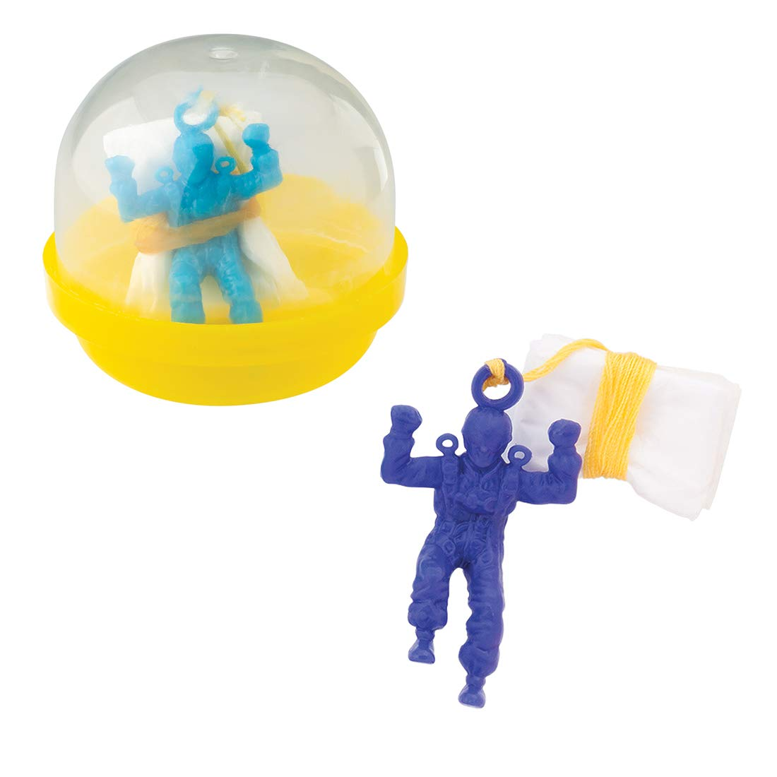 SmileMakers Mini Paratroopers in 2'' Capsules- 250 per Pack by SmileMakers