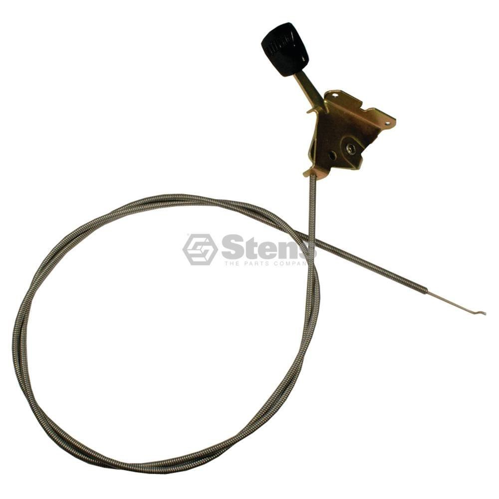 """Stens 290-411 Throttle Control Cable, Replaces Snapper: 1-1991, 7011991, Fits Snapper: 1-3 Series Rear Engine Riders with Briggs and Stratton Engines, 52"""" Inner Wire Length"""