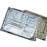 Dental ''B'' Tray Sleeves Clear, 10.5'' x 14'' 101B, 500/Box