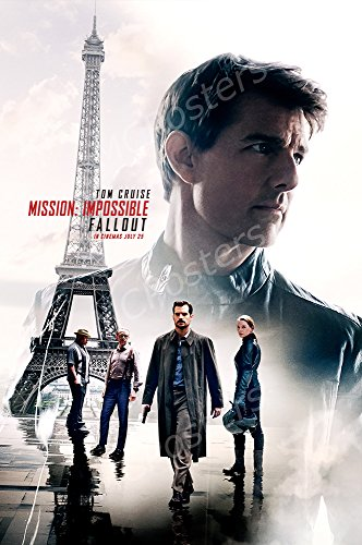 MCPosters Mission Impossible Fallout Tom Cruise GLOSSY FINISH Movie Poster - MCP425 (24