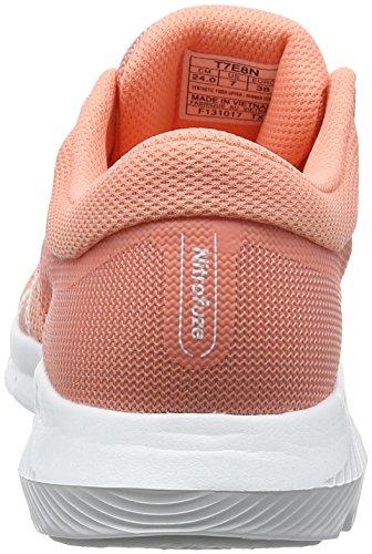 Chaussures Femme Nitrofuze Running Asics Pinkwhitewhite begonia 2 Multicolore De ER6Hw